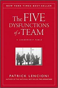 Петте дисфункции на екипа